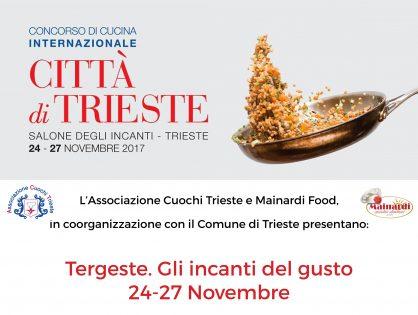 Incanti del Gusto 2017 – Concorso Città di Trieste