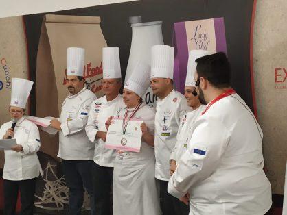 Tre medaglie di bronzo al primo impegno nazionale per due allievi e una lady chef dell'Associazione Cuochi Trieste