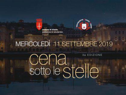 Cena Sotto Le Stelle – edizione 2019