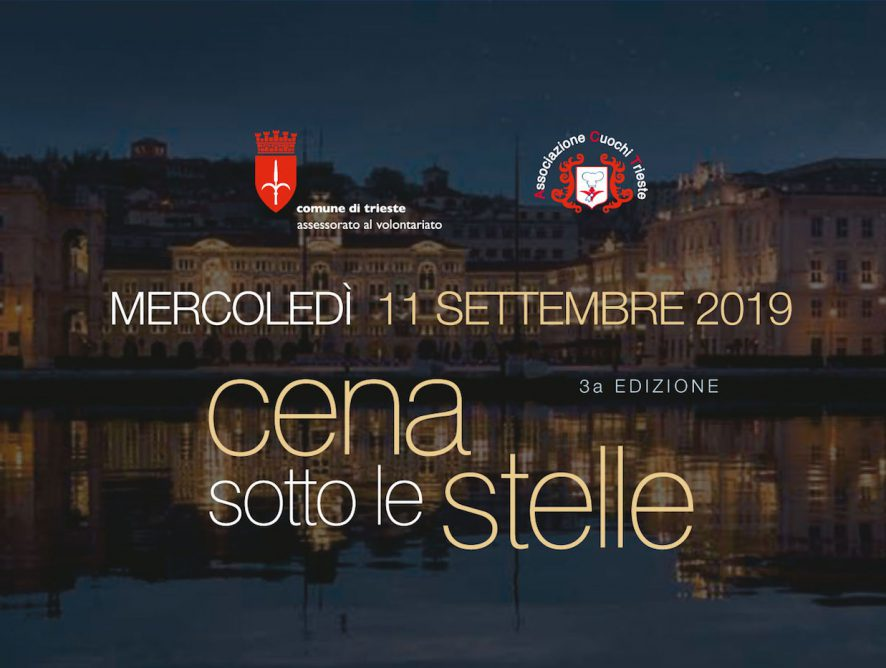 Cena Sotto Le Stelle - edizione 2019