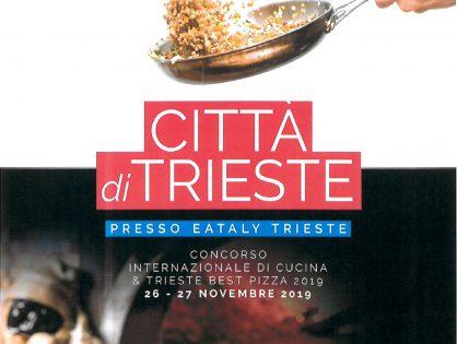 Terzo Concorso Internazionale Città di Trieste – 26 e 27 novembre 2019